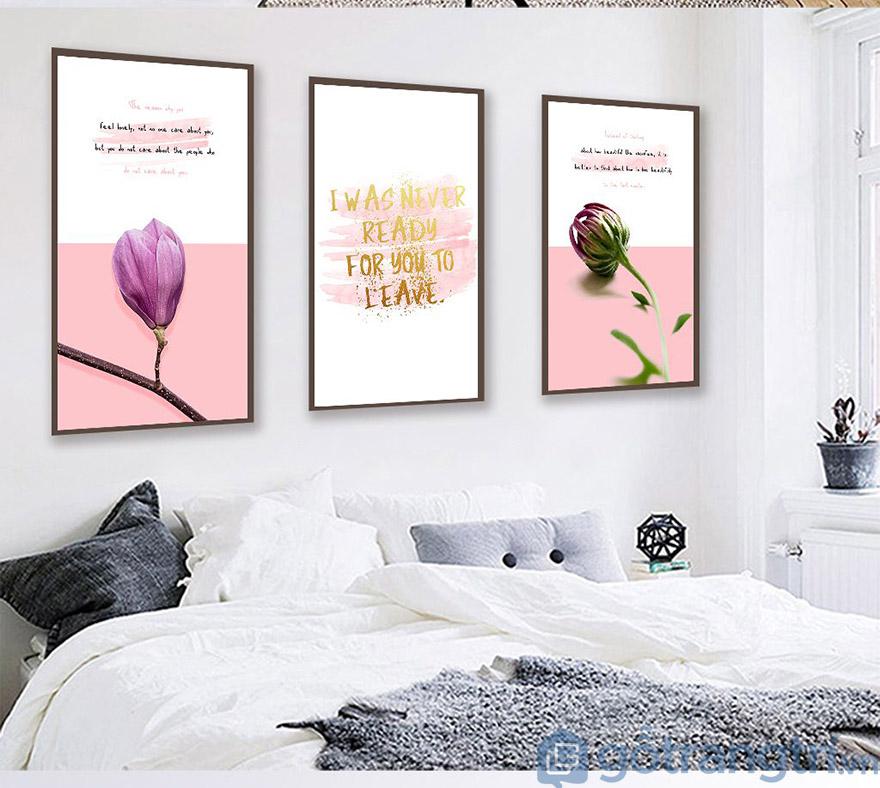 Tranh vải Canvas đang là xu hướng trang trí hiện nay với màu sắc tươi sáng và độ bền cao (Nguồn internet)