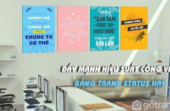 [ Xu hướng mới ] Mua tranh trang trí văn phòng, khởi nguồn mọi sự sáng tạo