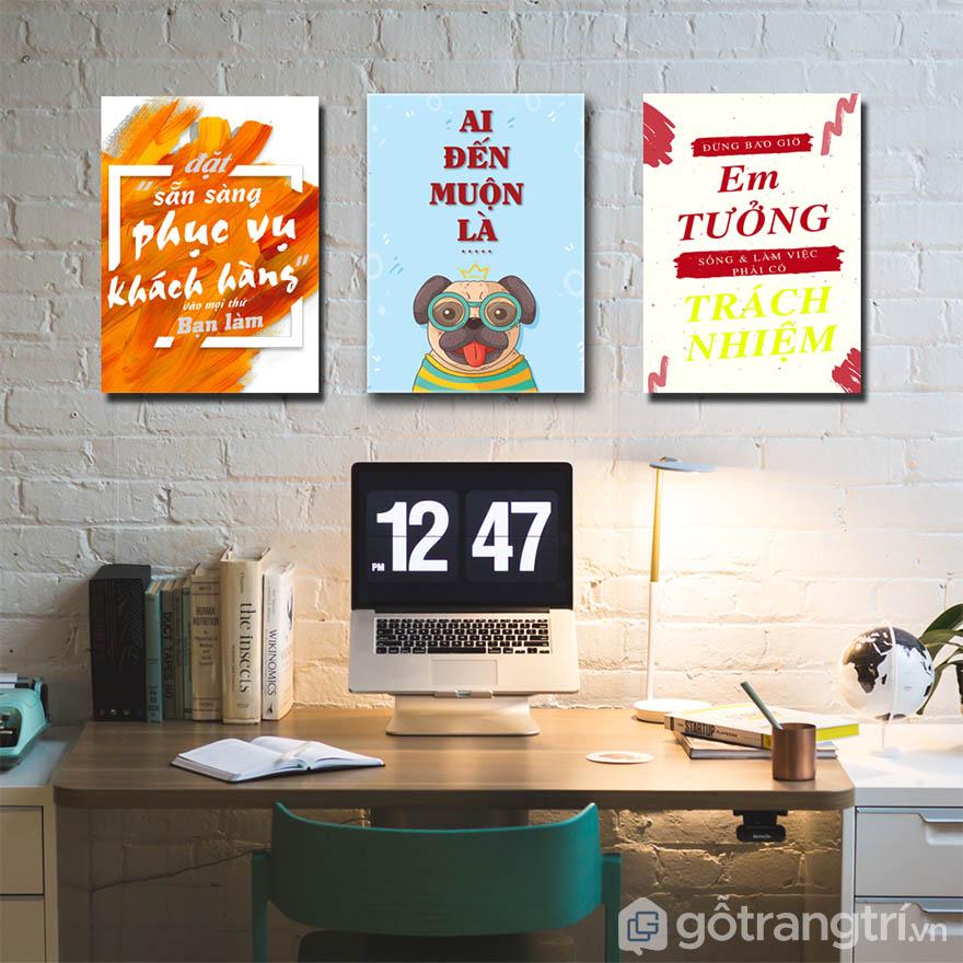 Tạo không gian thư thái, giúp giải tỏa căng thẳng cho nhân viên khi làm việc