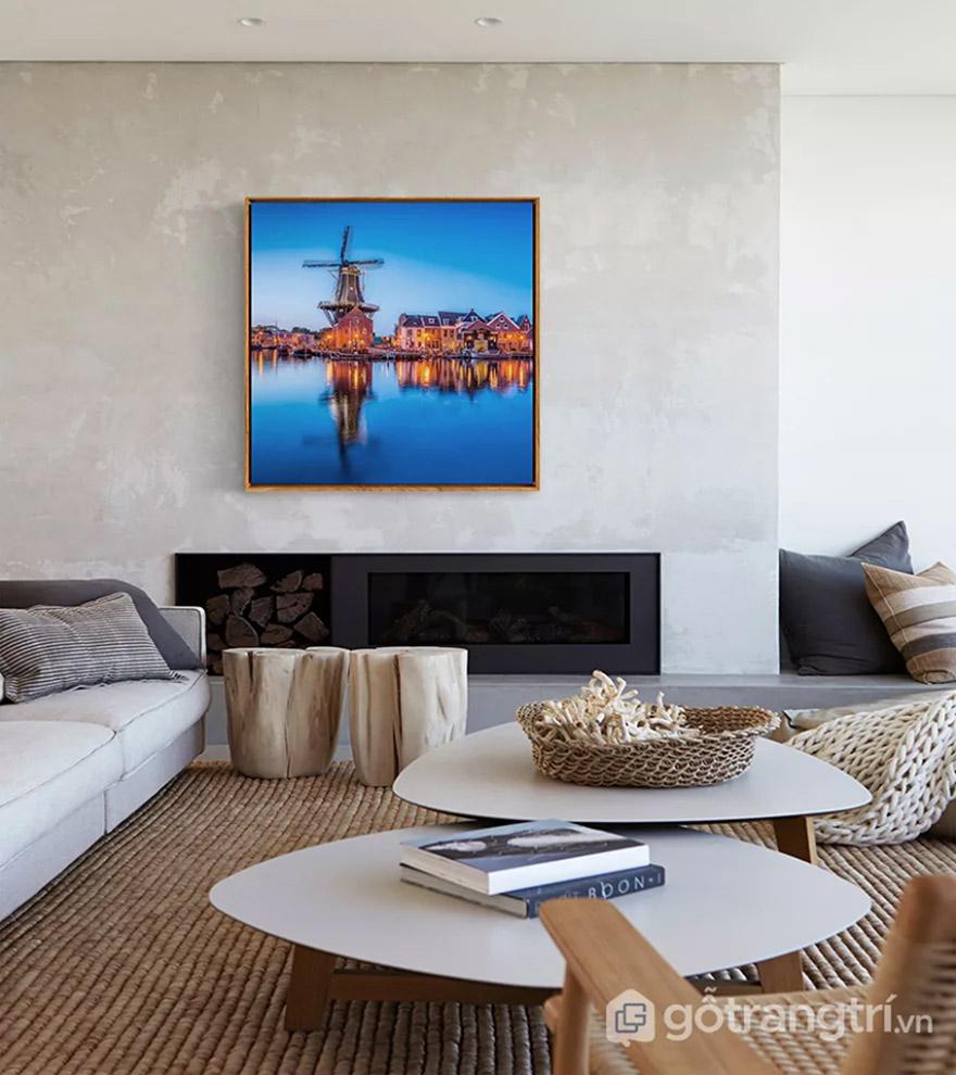 Cách tạo điểm nhấn sáng tạo cho không gian phòng khách