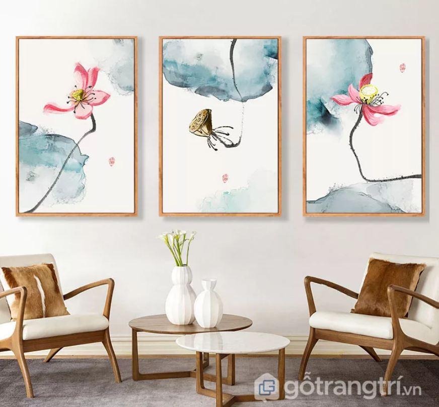 Tạo sự tươi mới với những mẫu tranh trang trí về cây cối, phong cảnh