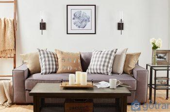 """Lên ý tưởng """"cực độc"""" dùng tranh trang trí phòng khách đẹp hút ánh nhìn"""