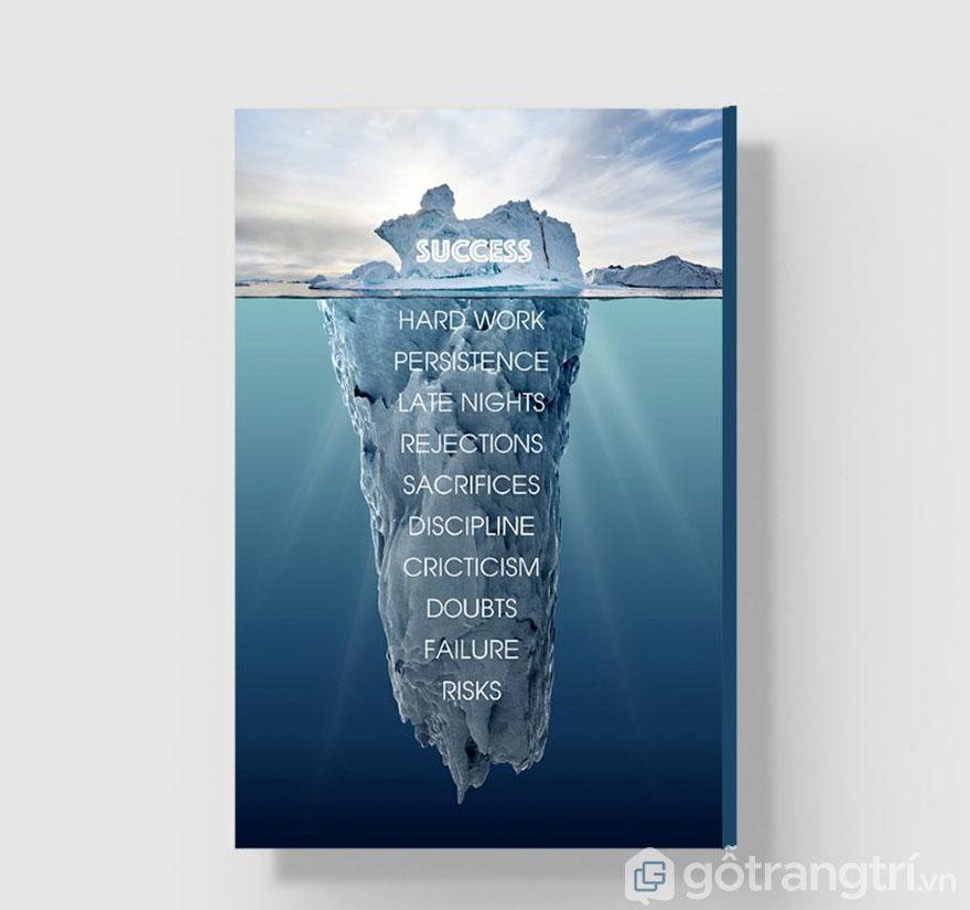 Thành công chỉ là bề nổi, khó khăn còn quá nhiều để chúng ta phải xử lý(Nguồn internet)