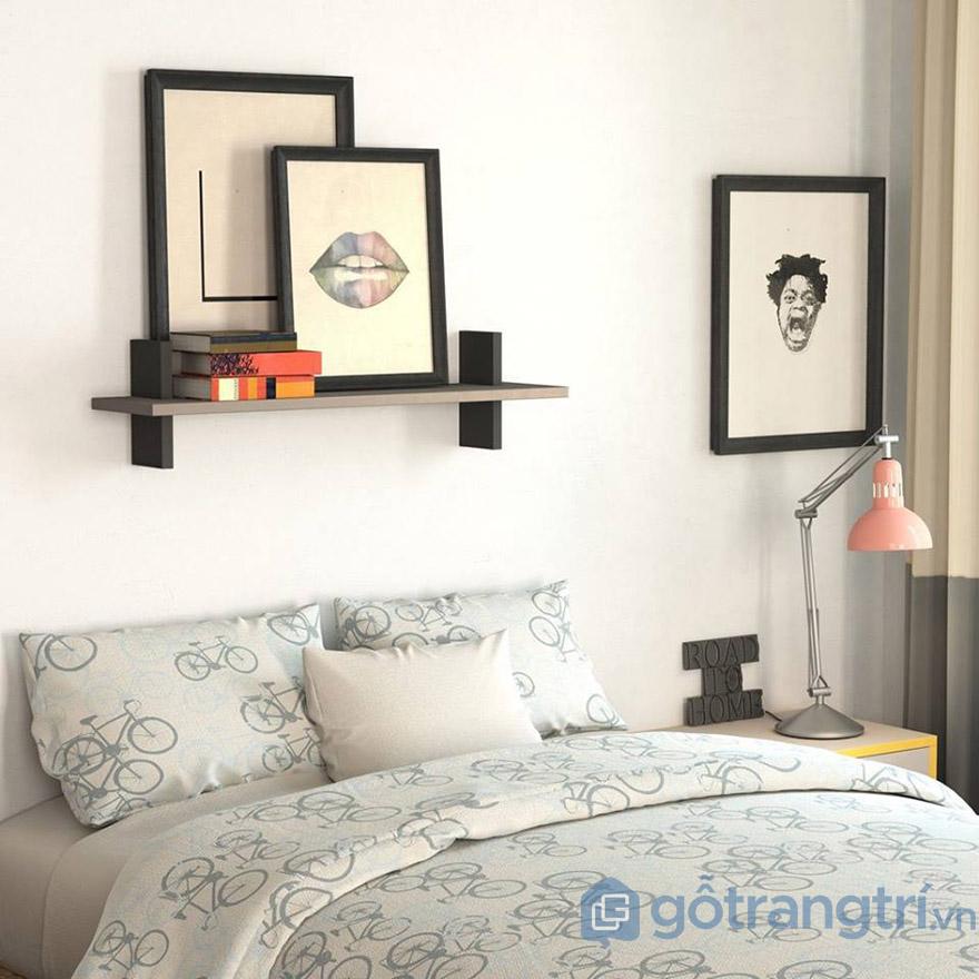 Sáng tạo phòng ngủ với tranh trang trí nghệ thuật(Nguồn internet)