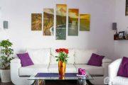 5 gợi ý dùng khung tranh treo tường tạo không gian cuốn hút