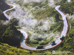 Tứ đại đỉnh đèo : Đèo Mã Pí Lèng (Hà Giang) - Ảnh internet