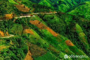 Tuyến đường đèo Pha Đin hấp dẫn đối với những người thích mạo hiểm - Ảnh internet