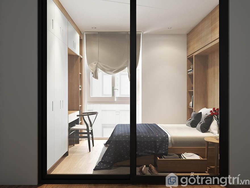 Sử dụng nội thất gỗ trong không gian nào cũng phù hợp