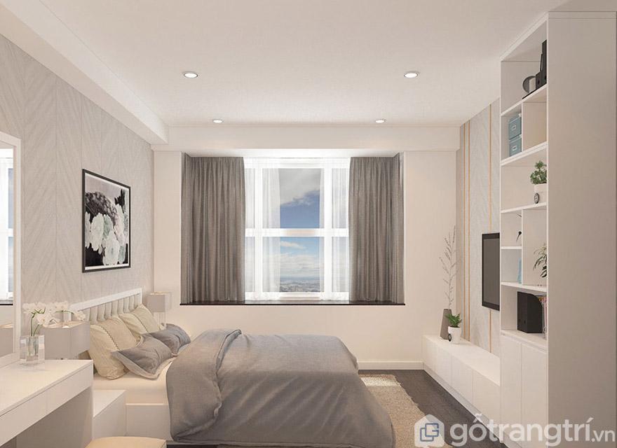 Lựa chọn tủ và kệ ti vi cho phòng ngủ thêm không gian sáng tạo