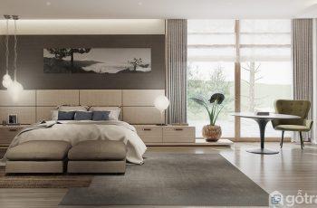 Bí kíp thiết kế nội thất phòng ngủ dưới 45m2 bắt kịp thời đại
