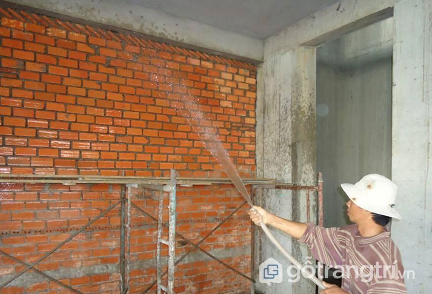 Nguyên tắc xây bức tường gạch - Ảnh: Internet