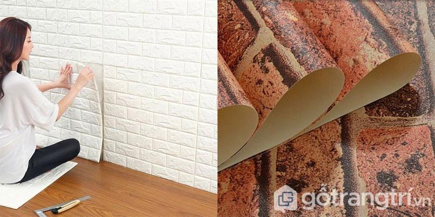 Xu hướng sử dụng vật liệu tạo bức tường gạch - Ảnh: Internet