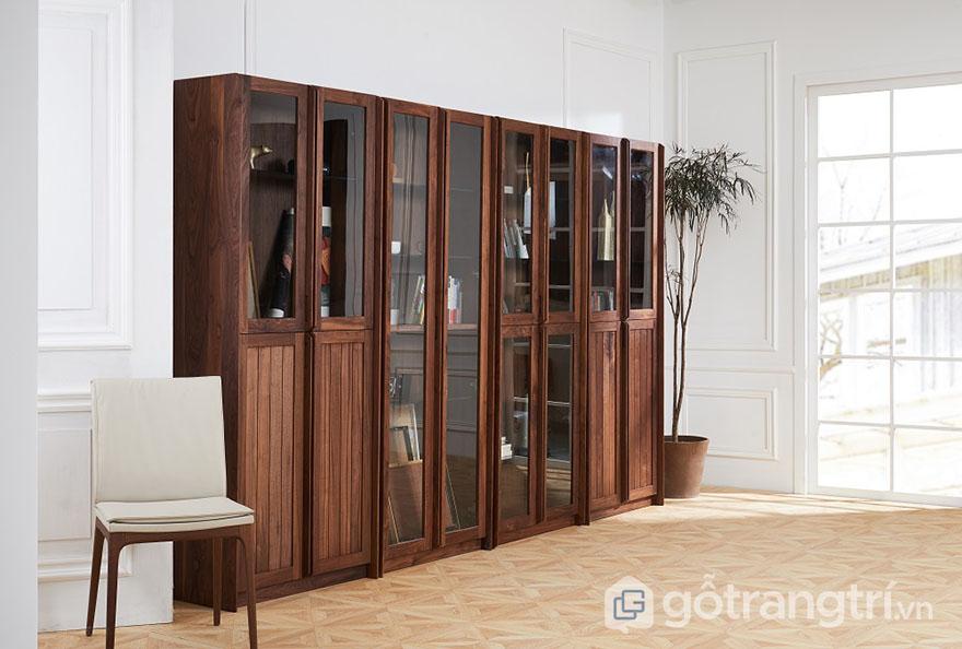 Tìm hiểu ưu và nhược điểm của tủ tài liệu gỗ tự nhiên hiện nay