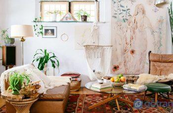 Phong cách Bohemian – Sự phóng khoáng thể hiện rõ trong từng chi tiết