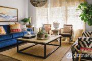 Gợi ý những cách trang trí phòng khách đúng chuẩn Bohemian style
