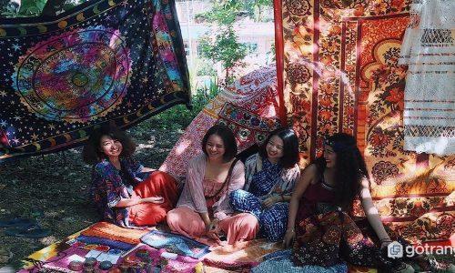 Homestay phong cách nội thất Bohemian khiến giới trẻ Đà Lạt phát sốt