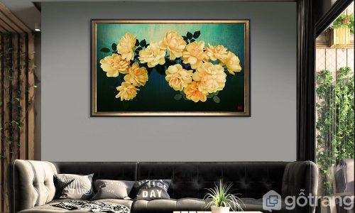 20+ mẫu tranh Canvas hoa đẹp say đắm lòng người, ai cũng muốn sở hữu