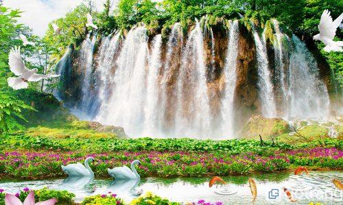 Những bức tranh phong cảnh đẹp ngây ngất cho phòng khách gia đình