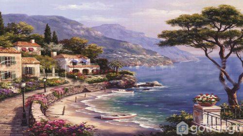 [ Ý tưởng ] Ngất lịm trước BST tranh sơn dầu phong cảnh đẹp hút ánh nhìn