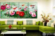 [Tư vấn] Chọn tranh treo tường phòng khách hợp phong thủy