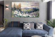 [ Tư vấn ] Cách chọn tranh Canvas phòng khách tạo điểm nhấn cực chất