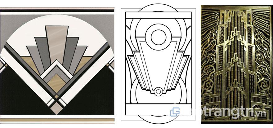 Cấu trúc của nghệ thuật trang trí nội thất (Ảnh: Internet)