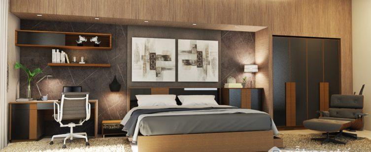 cách đặt giường ngủ trong phòng