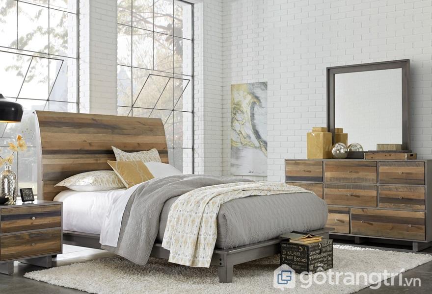 Đặt giường ngủ lệch với cửa sổ và cửa ra vào - ảnh internet