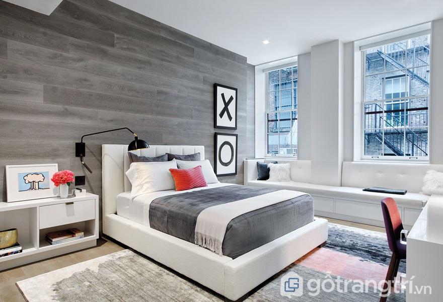Giường ngủ cần phù hợp với không gian và hợp mệnh gia chủ - ảnh internet