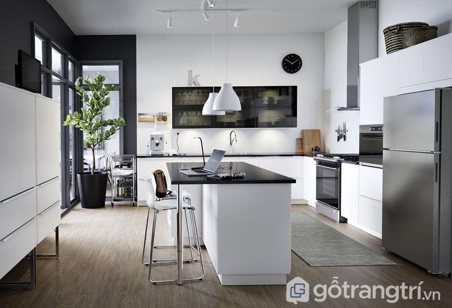 Cây trồng trong nhà bếp để trang trí - ảnh internet