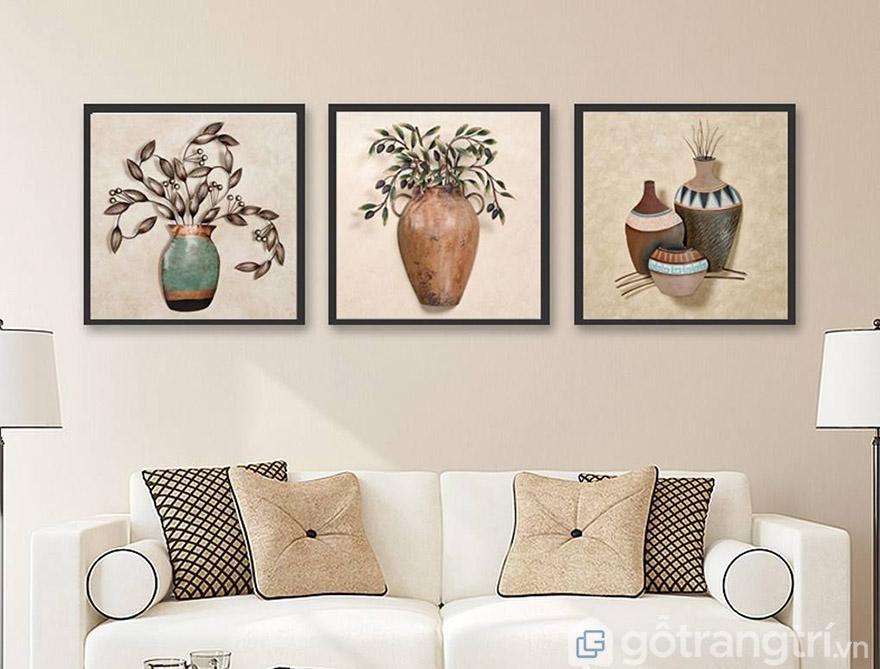 Bạn nên tìm hiểu về chất liệu cũng như màu sắc trước khi mua khung tranh nghệ thuật.