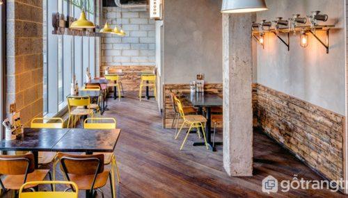 Tư vấn thiết kế nhà hàng phong cách công nghiệp đẹp đến mê mẩn