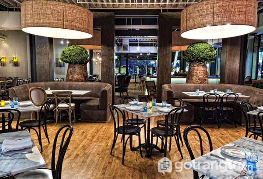 Nhà hàng phong cách công nghiệp:Nhà hàng Searsucker (Ảnh: Internet)
