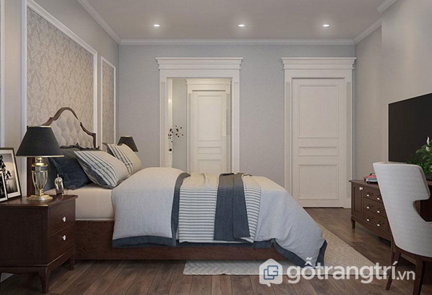 Thảm trải sàn trong phòng ngủ (Ảnh: Internet)