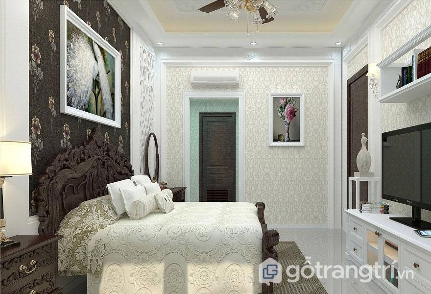 Không gian nội thất cho phòng ngủ (Ảnh: Internet)