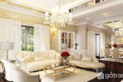 Tuyệt chiêu thiết kế nội thất biệt thự tân cổ điển khiến dân tình xôn xao