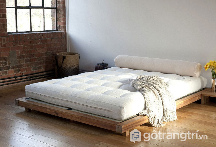 Chất liệu vải tự nhiên luôn xuất hiện trong căn phòng ngủ người Nhật (Ảnh: Internet)