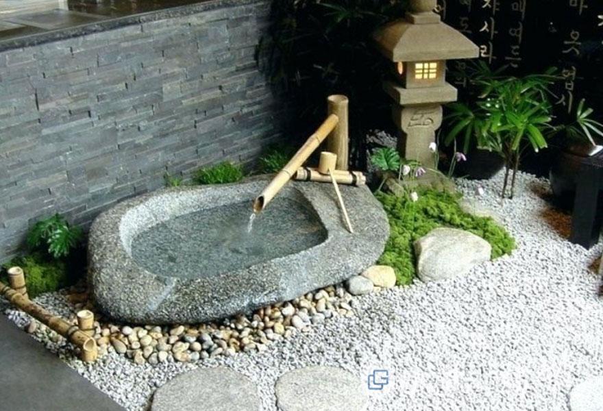 Tiểu cảnh sân vườn (Ảnh: Internet)