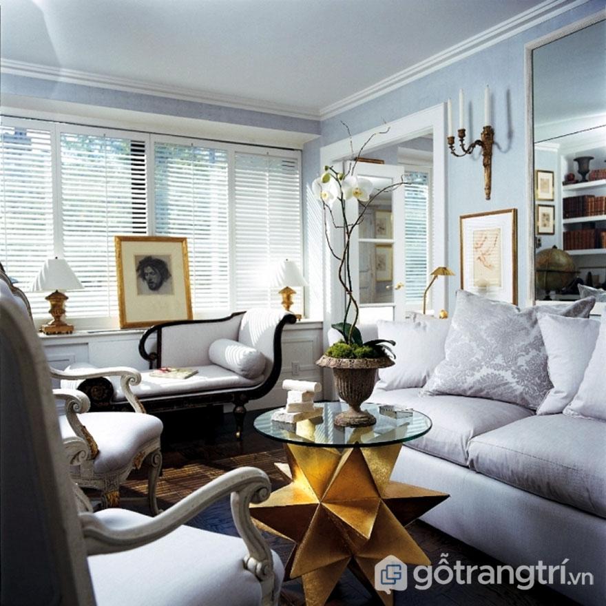 Phong cách nội thất tân cổ điển - Sự thanh lịch, quyến rũ của thế kỷ 18 (Ảnh: Internet)