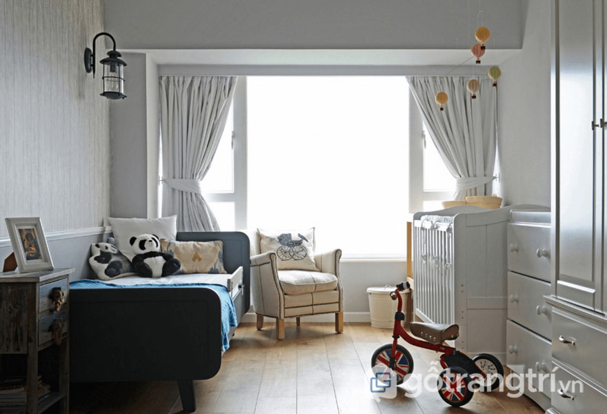 Phòng ngủ cho bé (Ảnh: Internet)