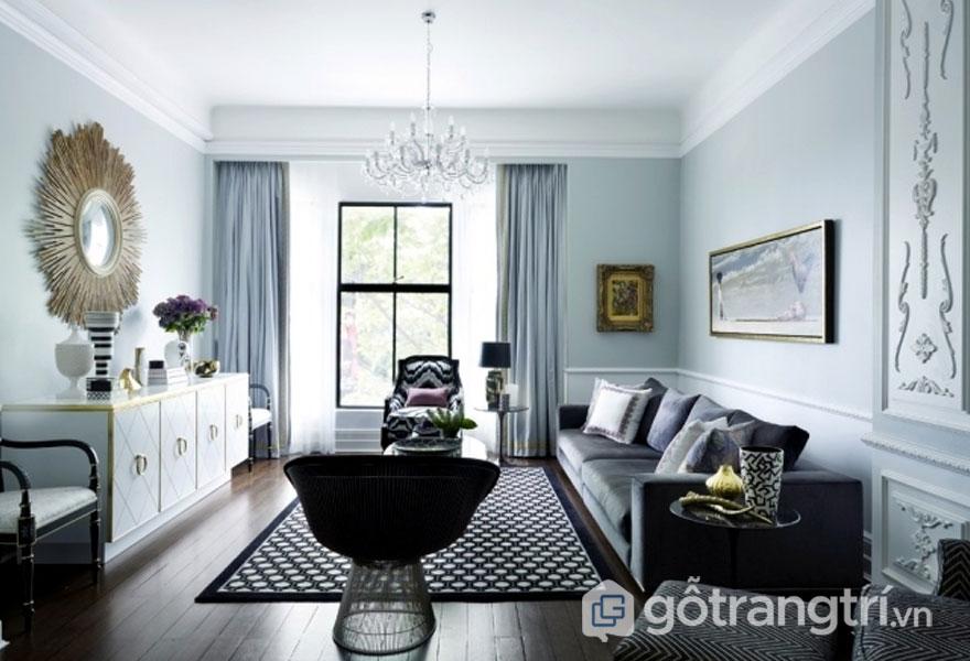 Đồ trang trí như: đỉnh, bình, đồ gốm, tượng trang trí...tôn lên nét đẹp của gian phòng (Ảnh: Internet)
