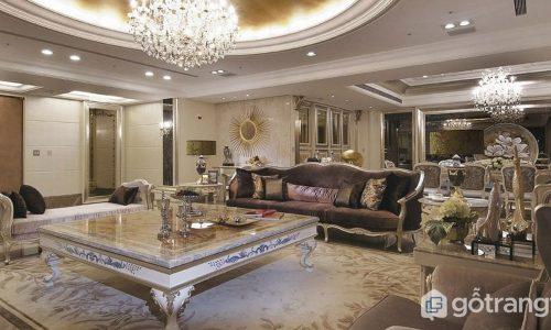 Phong cách nội thất tân cổ điển - Sự thanh lịch, quyến rũ của thế kỷ 18