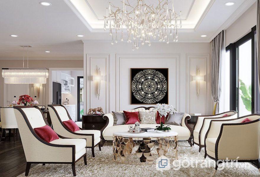 Phong cách nội thất tân cổ điển phù hợp các công trình nào (Ảnh: Internet)