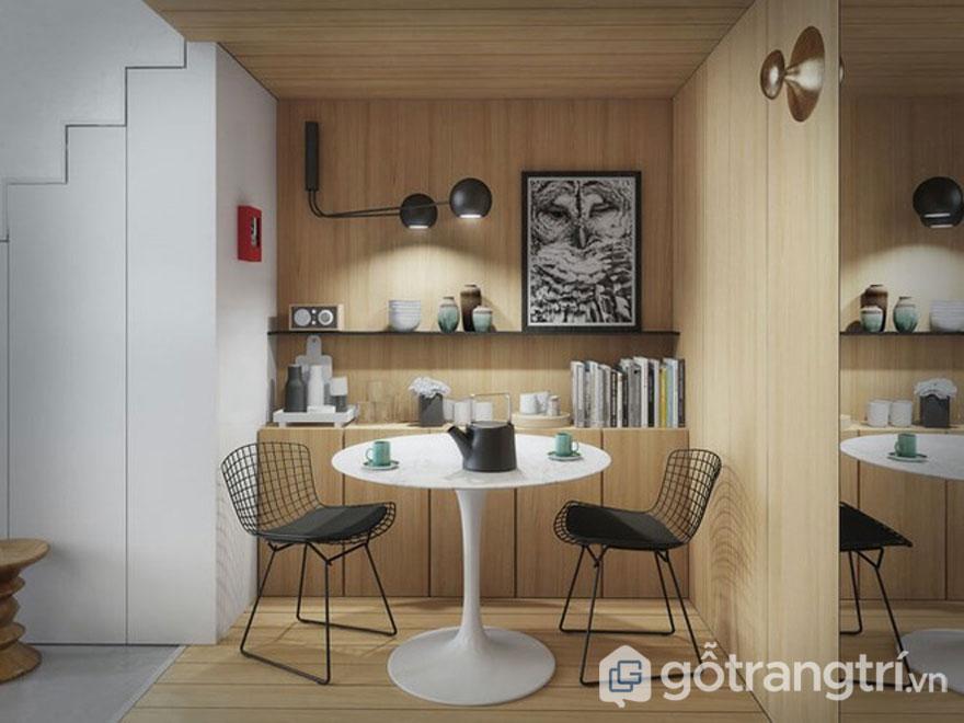 Gỗ là dòng chất liệu không thể thiếu trong thiết kế nội thất (Ảnh: Internet)