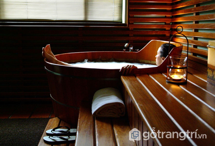 Ofuro- Bồn tắm truyền thống(Ảnh: Internet)