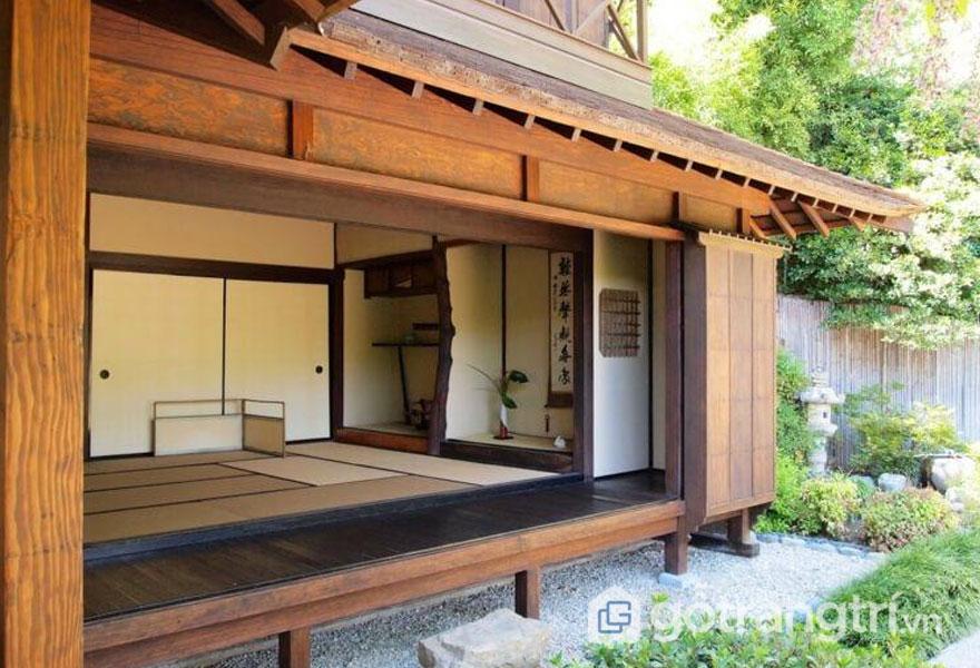 Góc Tokonoma (bên phải) - Đây là nơi tập trung rất tinh túy của ngôi nhà (Ảnh: designmag)