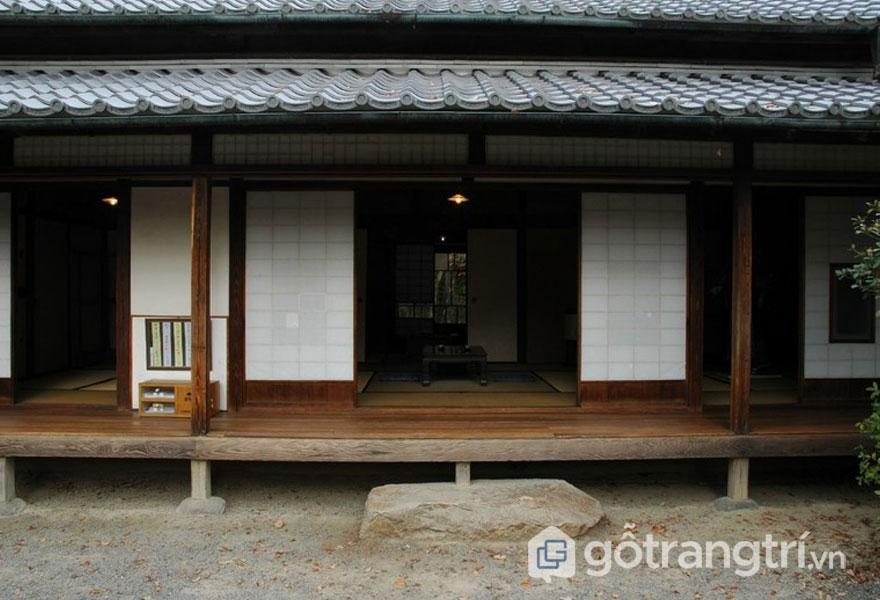 Engawa- Hành lang bằng gỗ (Ảnh: Internet)