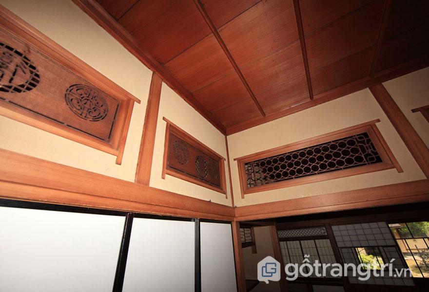 Ranma- Tấm gỗ phía trênShoji vàFusuma (Ảnh: Internet)