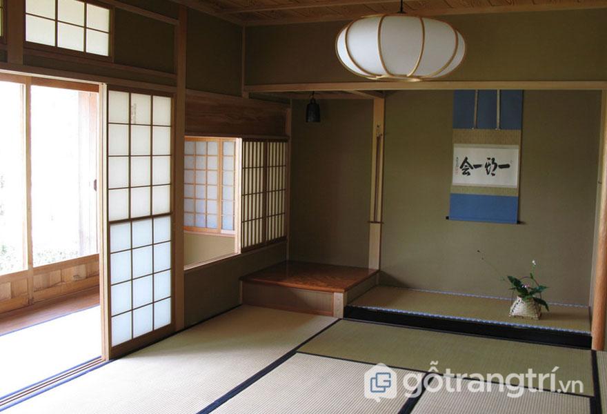 Tokonoma- Góc căn phòng (Ảnh: Internet)