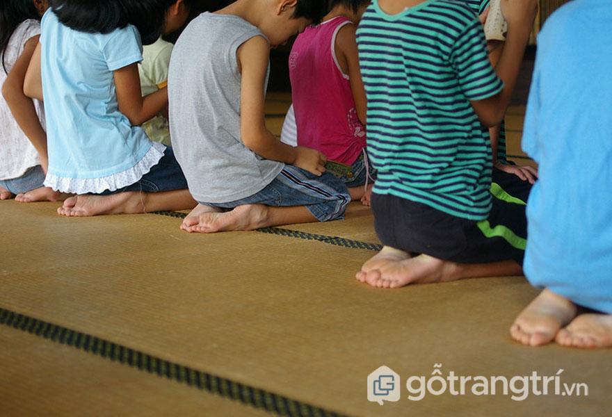 Tatami- Thảm trải sàn truyền thống (Ảnh: Internet)